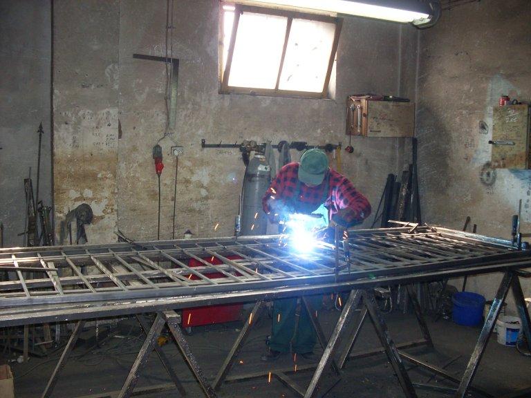 Metallzäune aus Polen
