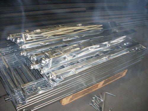 Metallzaune aus Polen