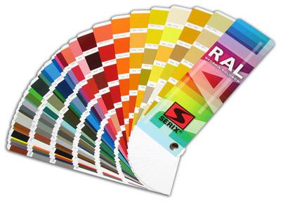 Metallzaun - RAL Farben